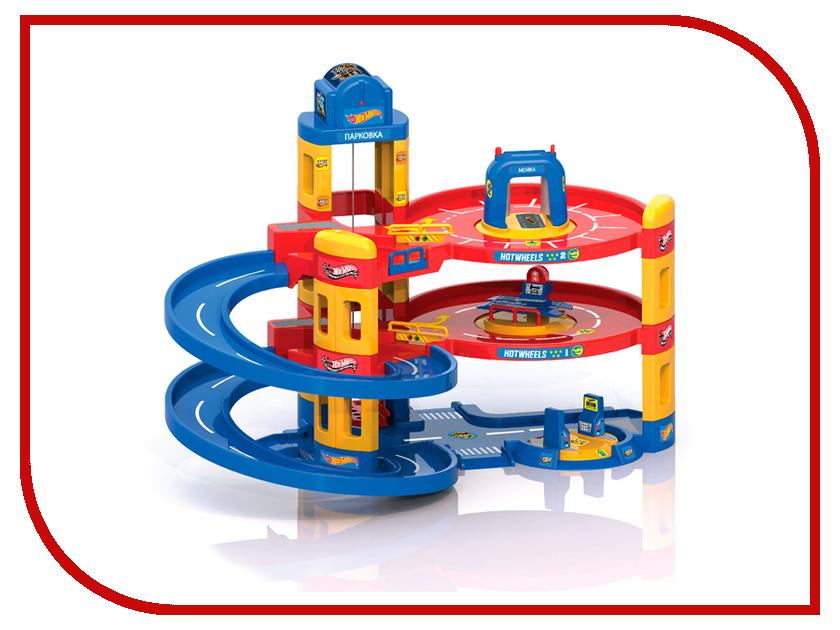 Игрушка Mattel Hot Wheels 3 в 1: автомойка, заправка, автосервис 431202 автомойка billion of 220v
