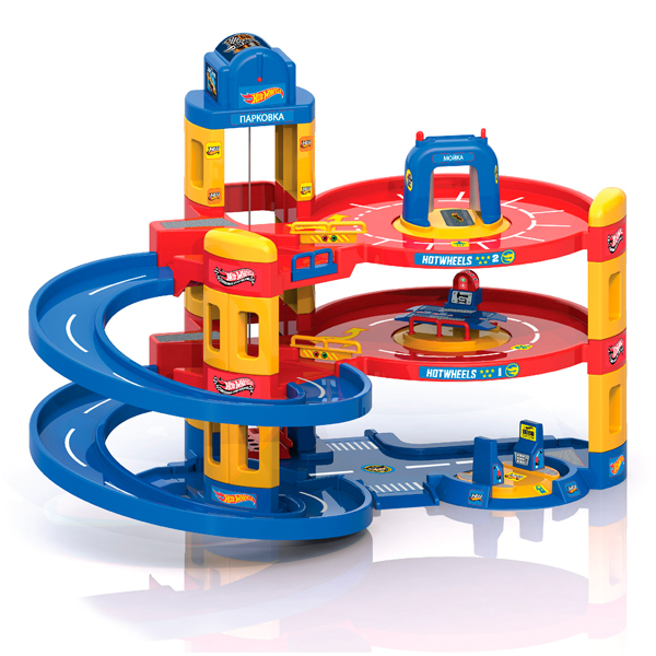 Игрушка Mattel Hot Wheels 3 в 1: автомойка, заправка, автосервис 431202 zhorya набор городская автомойка 3 машинки 47 6 3 32 5см