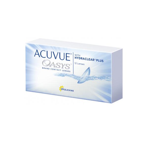 Контактные линзы Johnson & Acuvue Oasys with Hydraclear Plus (12 линз / 8.4 -3.75)