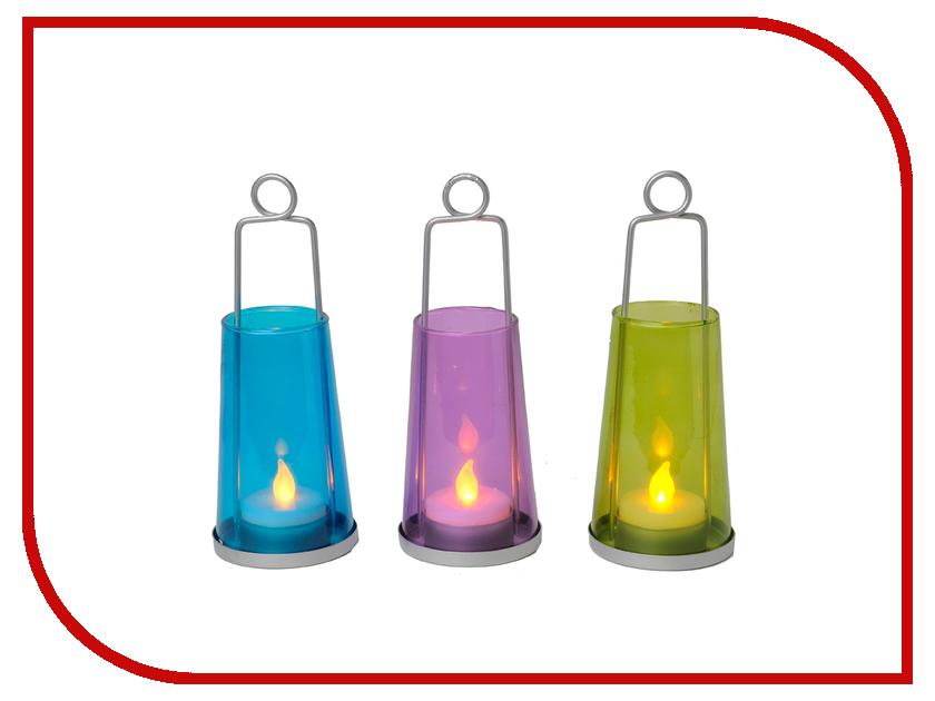 Светодиодная свеча Star Trading 3шт Multicolored 066-76