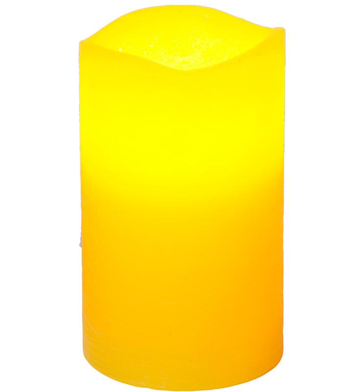 Светодиодная свеча Star Trading Yellow 067-64 светодиодная свеча star trading glow wax beige 068 83