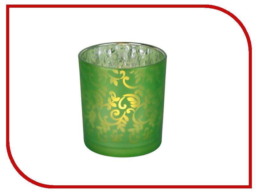 Светодиодная свеча Star Trading Green 068-01