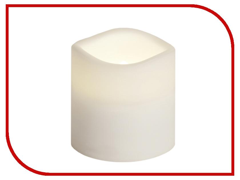 Светодиодная свеча Star Trading Candle Plastic White 067-77