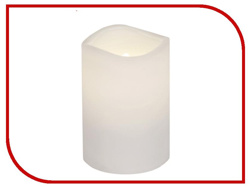 Светодиодная свеча Star Trading Candle Plastic White 067-78