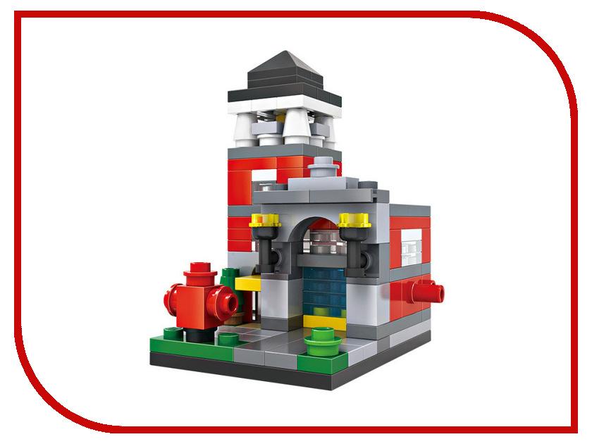 Конструктор LoZ Пожарная станция 159 дет. LZ1412 hti большая пожарная станция teamsterz