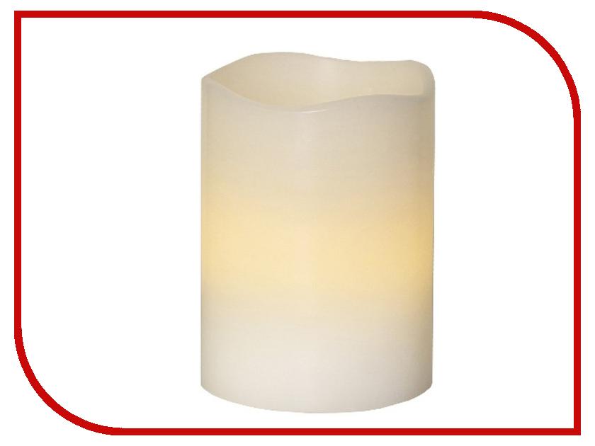 Светодиодная свеча Star Trading Wax White 063-32