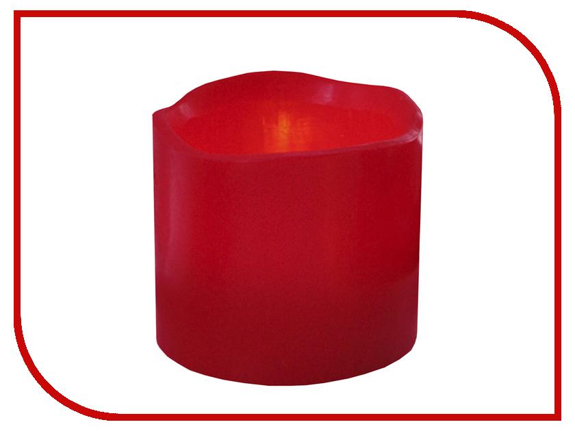 Светодиодная свеча Star Trading Wax Red 063-41 trading up