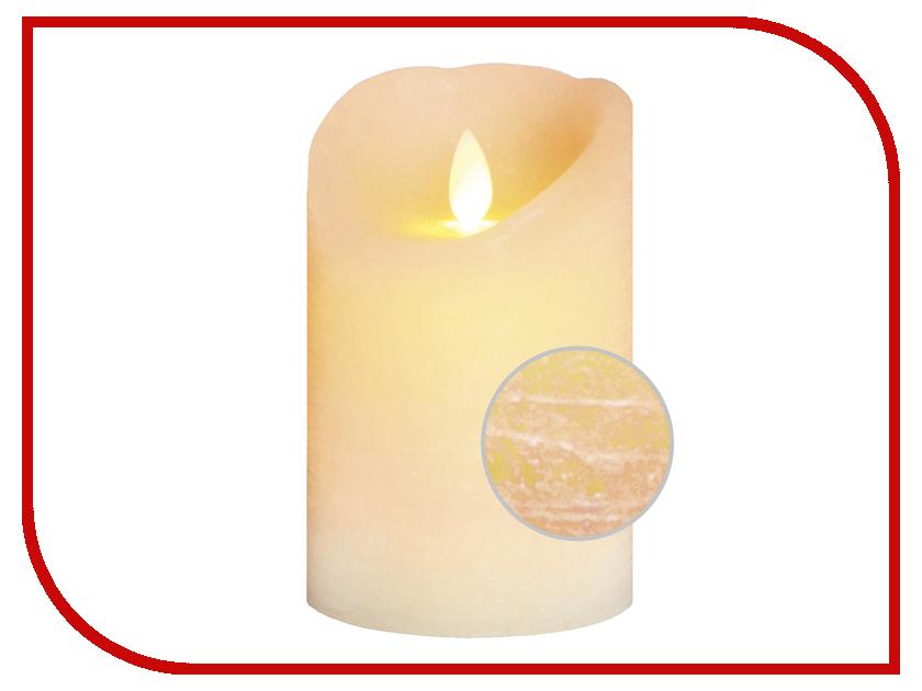 Светодиодная свеча Star Trading Glow wax Beige 068-83