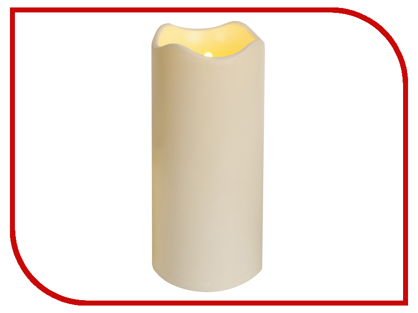 Светодиодная свеча Star Trading Candle Plastic White 068-25