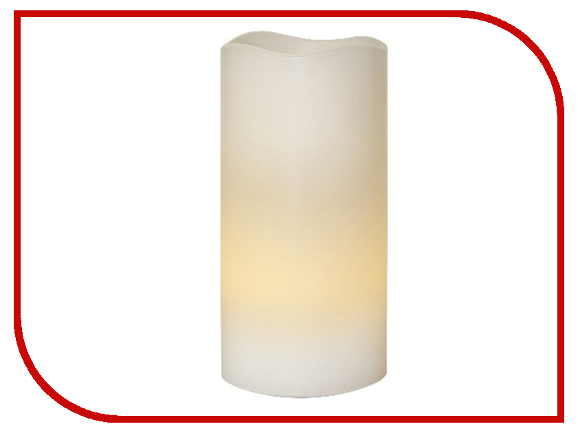 Светодиодная свеча Star Trading Wax White 063-34