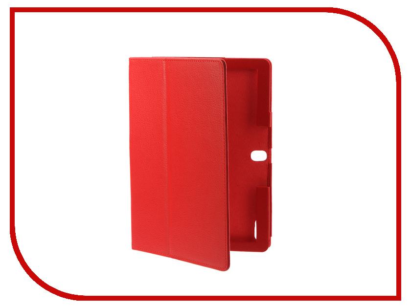 Аксессуар Чехол Lenovo Tab 10.0 TB-X103F IT Baggage Red ITLNT4130-3 чехол для asus zenpad z580c z580ca it baggage эко кожа черный