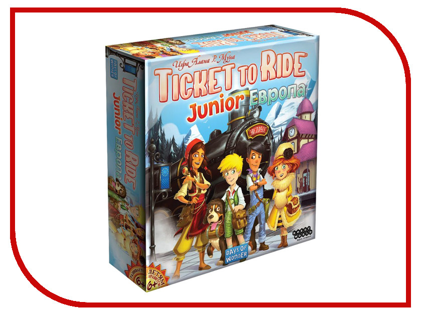 Настольная игра Hobby World Ticket to Ride Junior: Европа 1867