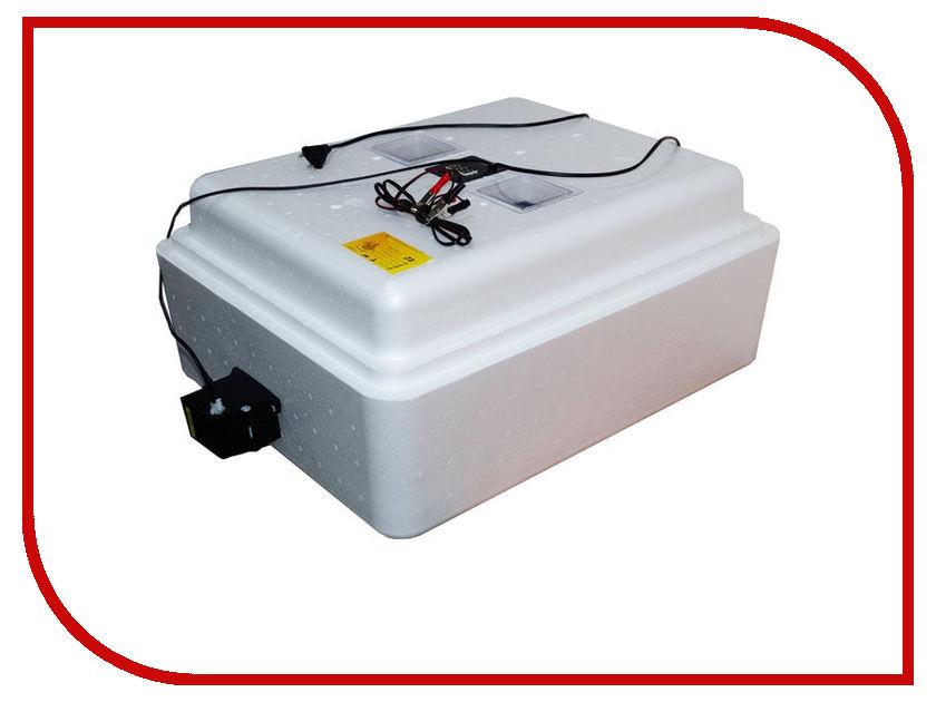 Инкубатор Несушка 77 яиц, автоповорот, цифровой терморегулятор с гигрометром, полный автомат, 220В/12В