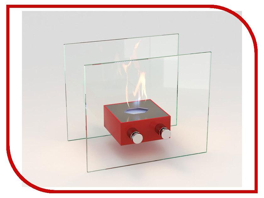 Биокамин Lux Fire Токио S Red КН-0017S-03 биокамин напольный классика в москве недорого
