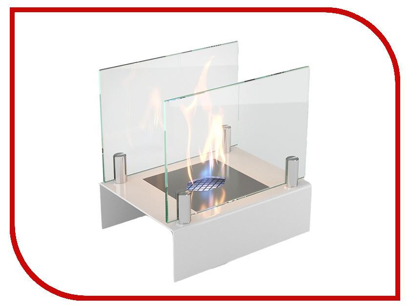 Биокамин Lux Fire Цирк Арлекино S White КН-0017S-10 Б
