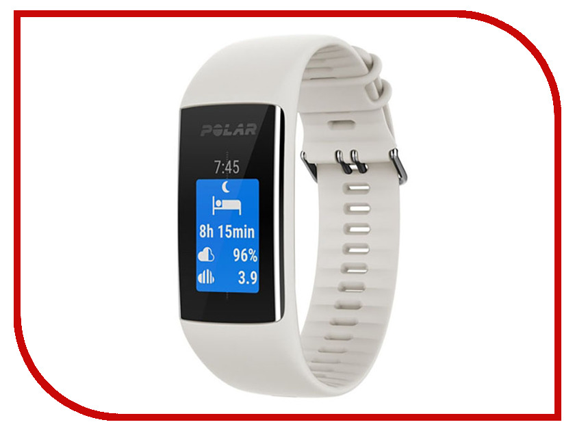 Часы Polar A370 M/L White sms flatscreen shelf m l black