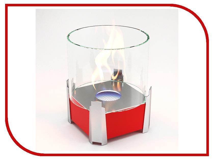 Биокамин Lux Fire Рондо S Red КН-0017S-05 К