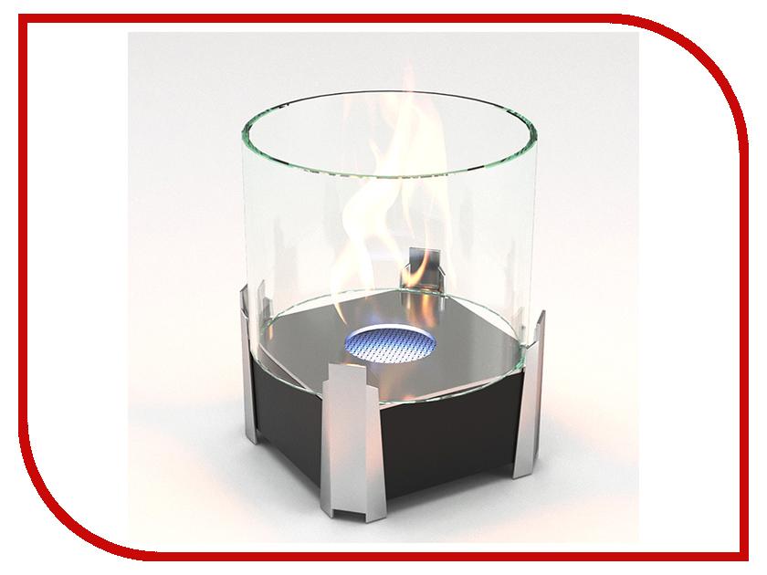 Биокамин Lux Fire Рондо S Black КН-0017S-05 Ч биокамин напольный классика в москве недорого