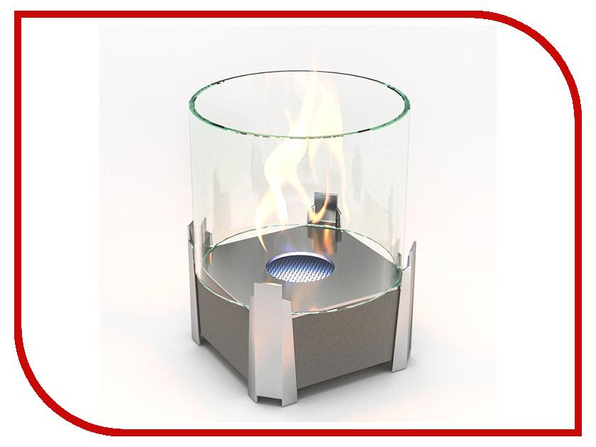 Биокамин Lux Fire Рондо S Silver КН-0017S-05 С