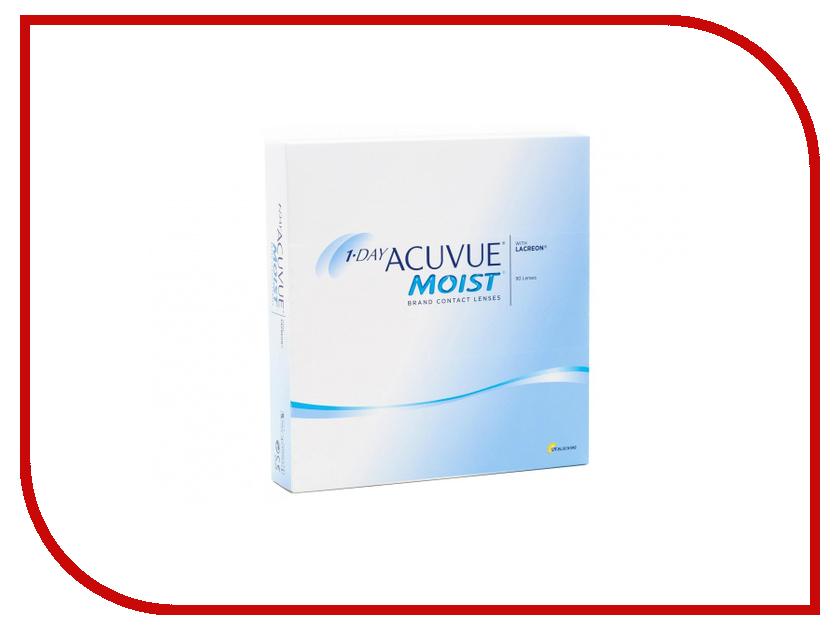 Контактные линзы Johnson & Johnson 1-Day Acuvue Moist (90 линз / 8.5 / -7) линзы контактные 1 day acuvue moist 1день 8 5 1 0d 90шт page 7