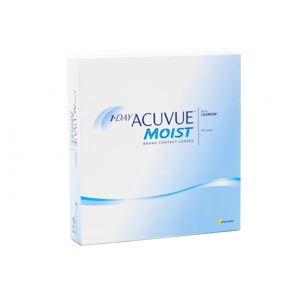 Фото - Контактные линзы Johnson & Johnson 1-Day Acuvue Moist (90 линз / 8.5 / -7) spencer johnson new one minute manager