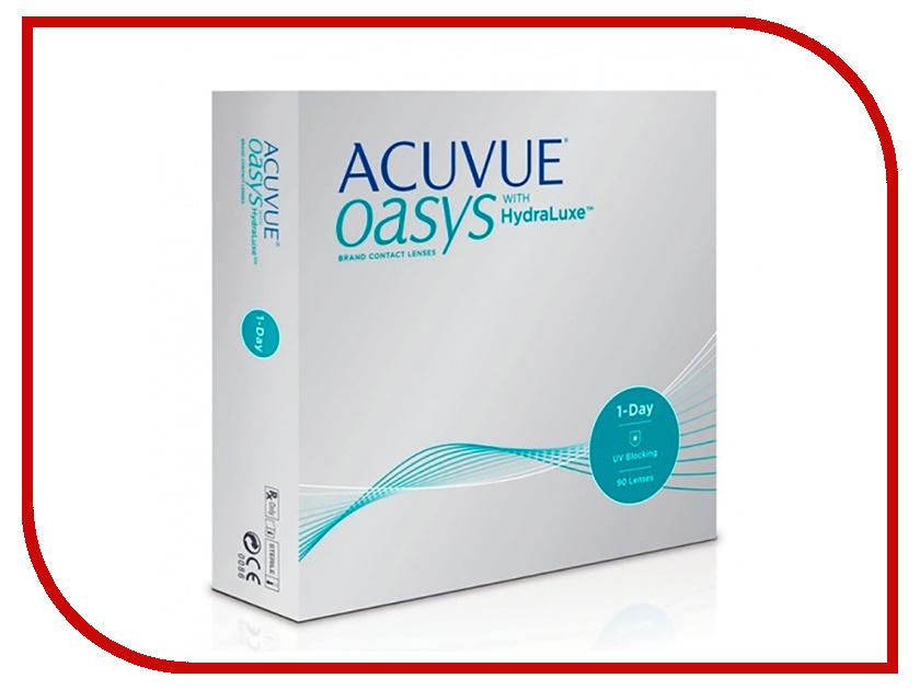 Контактные линзы Johnson & Johnson 1-Day Acuvue Oasys with HydraLuxe (90 линз / 8.5 / -8) контактные линзы johnsonjohnson acuvue oasys 12 шт r 8 8 d 06 50