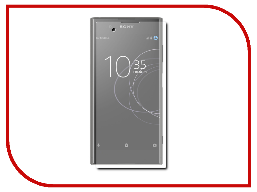 Аксессуар Защитное стекло для Sony Xperia XA1 Plus Solomon