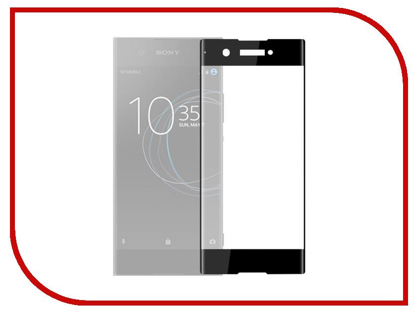 Аксессуар Защитное стекло для Sony Xperia XA1 Plus Solomon Full Cover Black аксессуар защитное стекло sony xperia xa1 ultra solomon