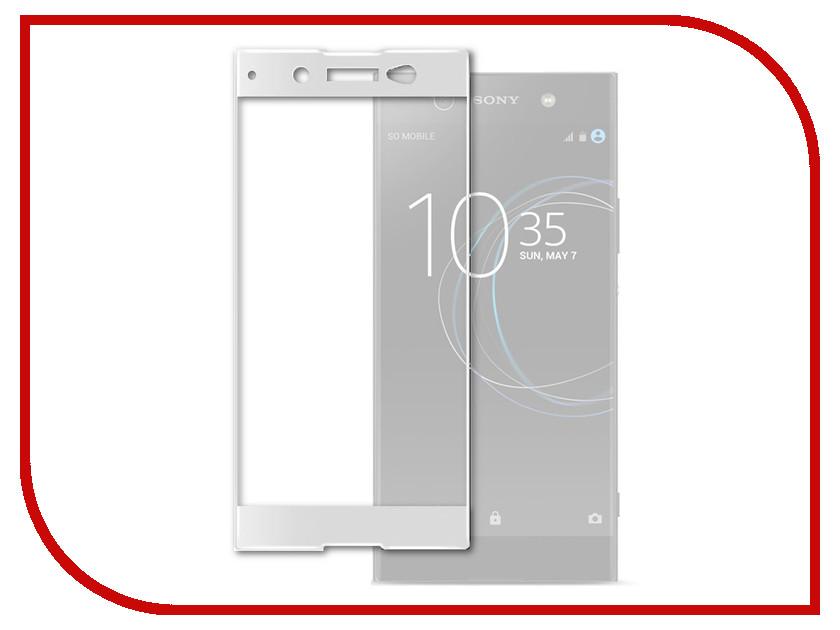 Аксессуар Защитное стекло Sony Xperia XA1 Ultra Solomon Full Cover White защитное стекло для sony xperia xa1 ultra onext