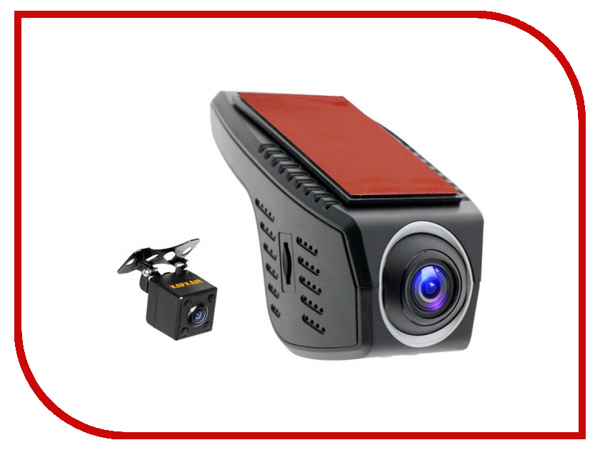 Видеорегистратор Каркам CarCam U4-HD автомобильный видеорегистратор oem hd 1080p 170 dvr h 264 carcam blac kbox
