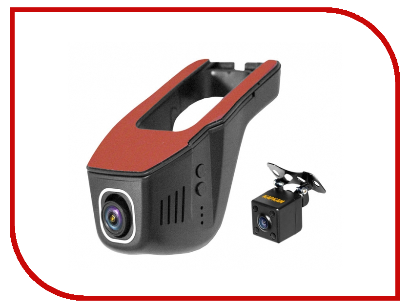 Видеорегистратор Каркам CarCam U8-FullHD видеорегистратор каркам carcam d3