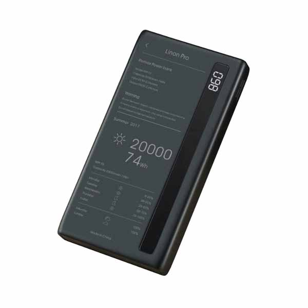 Внешний аккумулятор Remax Power Bank Linon Pro RPP-73 20000mAh Black