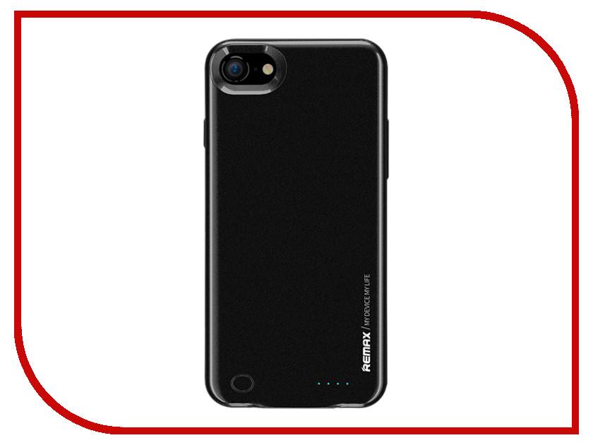 Аксессуар Чехол-аккумулятор Remax Energy Jacket для iPhone 7 2400mAh Black baseus little devil case for iphone 7 black