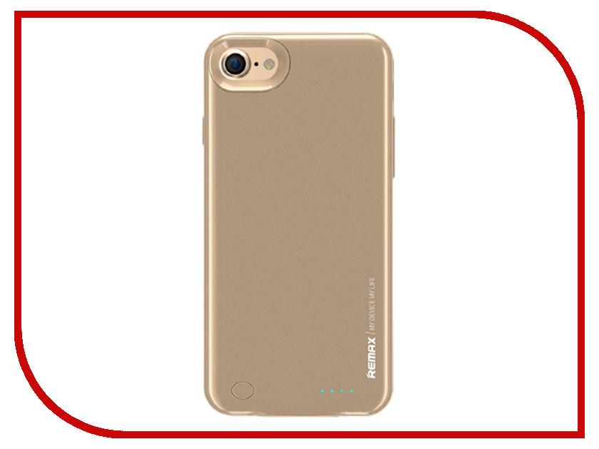 Аксессуар Чехол-аккумулятор Remax Energy Jacket для iPhone 7 2400mAh Gold чехлы для телефонов remax чехол накладка apple iphone 7 plus remax waves rose gold