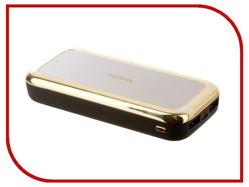 Аккумулятор Remax Mirror RPP-36 Power Bank 10000mAh White аккумулятор remax rpp 18 kingree power bank 10000mah gold