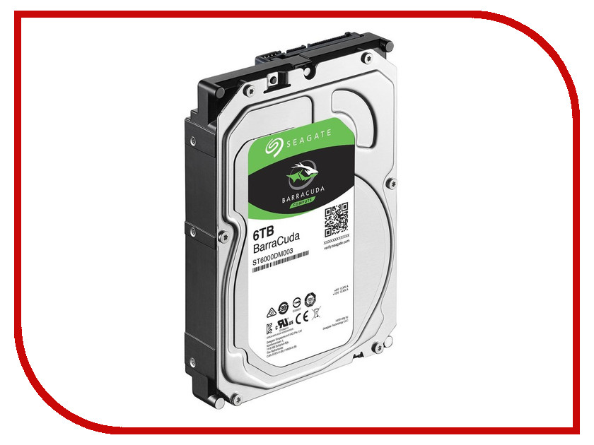 Жесткий диск 6Tb - Seagate Barracuda ST6000DM003