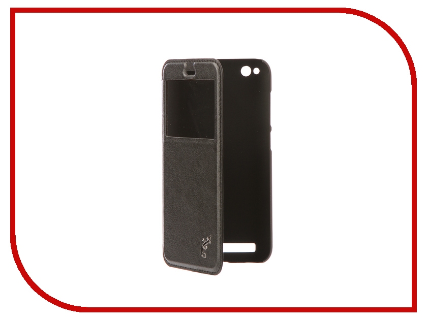 Фото Аксессуар Чехол Xiaomi Redmi 5A G-Case Slim Premium Black GG-916 аксессуар чехол xiaomi redmi 5 plus g case slim premium black gg 918