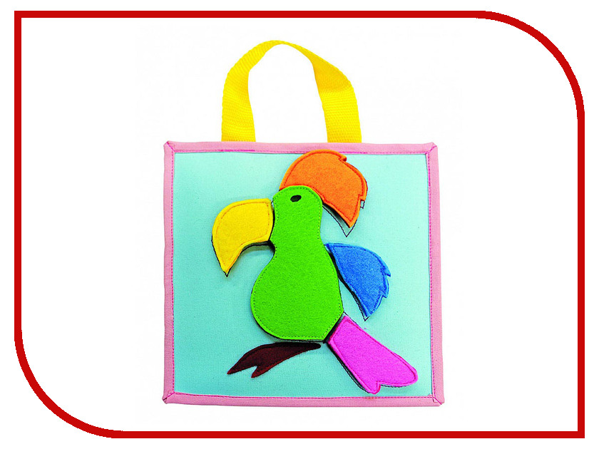 Набор Santa Lucia Аппликация на липучках Попугай 3008 рогатка y shot 3008