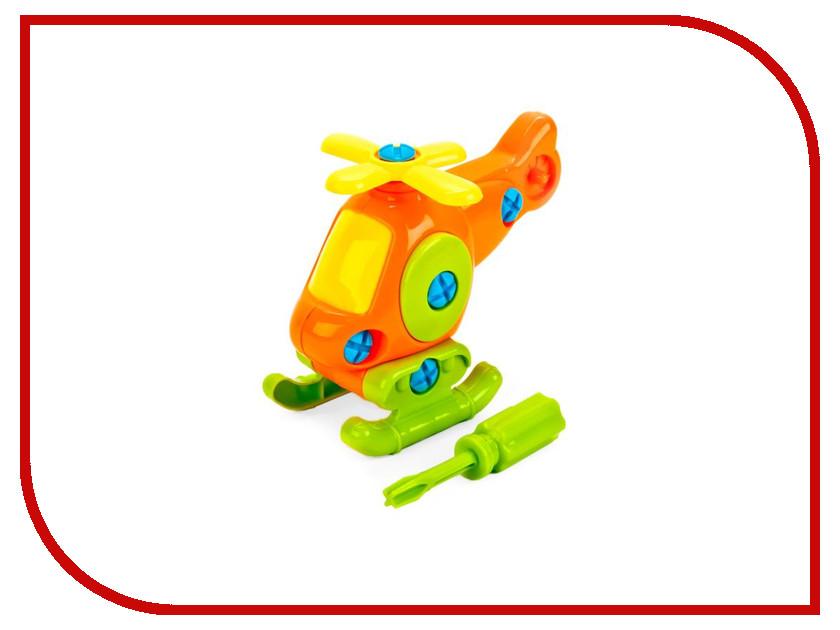 Конструктор Город Мастеров Фиксики Вертолет с ключом YC-4201-R фиксики конструктор вертолет 4 в 1