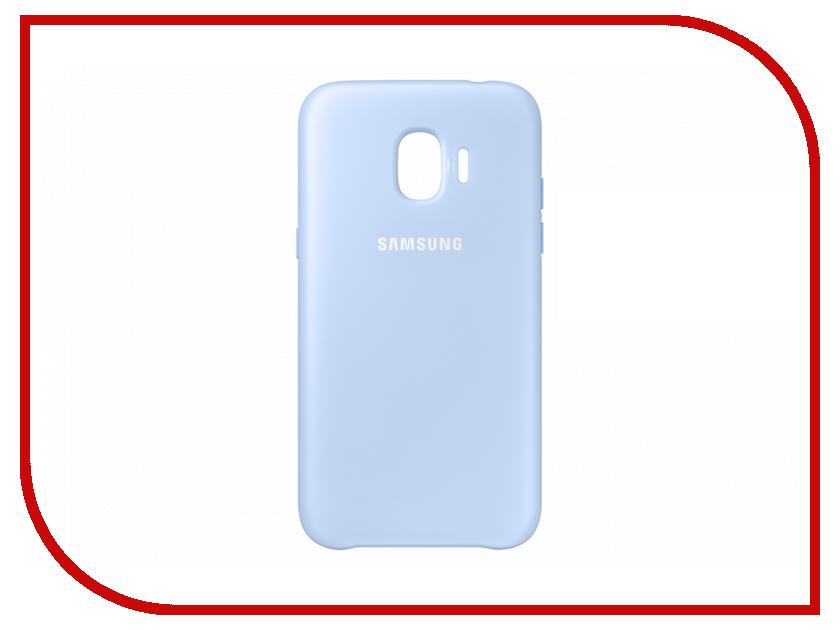 Аксессуар Чехол Samsung Galaxy J2 2018 Dual Layer Cover Blue EF-PJ250CLEGRU браслеты police pj 25884blb 01 l