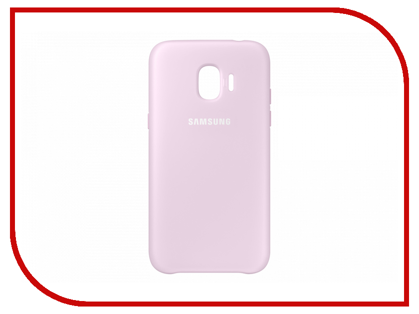 Аксессуар Чехол Samsung Galaxy J2 2018 Dual Layer Cover Pink EF-PJ250CPEGRU браслеты police pj 25884blb 01 l