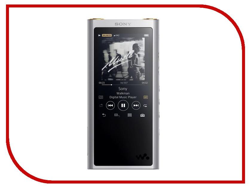 Плеер Sony NW-ZX300 Silver