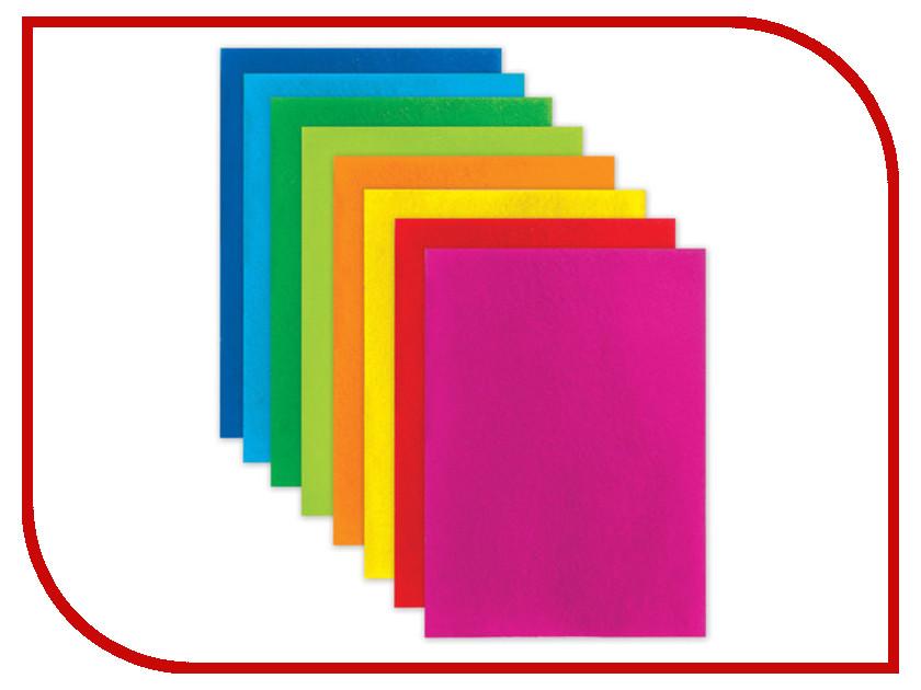 цена на Набор Brauberg Фетр A4 210x297mm Яркие цвета 660621
