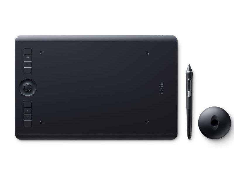 Графический планшет Wacom Intuos Pro Medium PTH-660-R Выгодный набор + серт. 200Р!!! графический планшет wacom mobile studio pro 13 dth w1320l ru