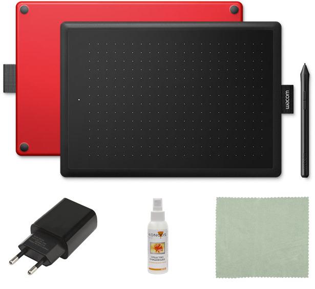 Графический планшет Wacom CTL-672-N Выгодный набор + серт. 200Р!!!