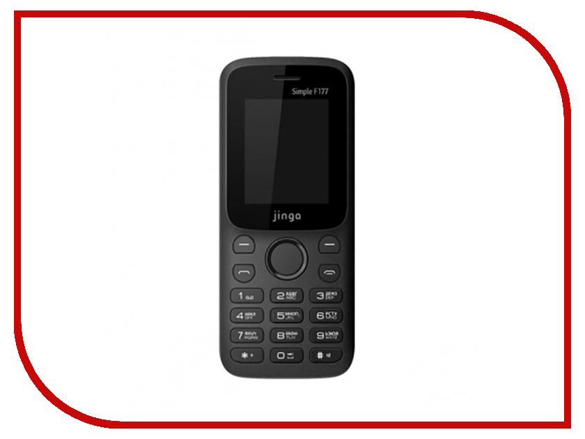 Сотовый телефон Jinga Simple F215 Black