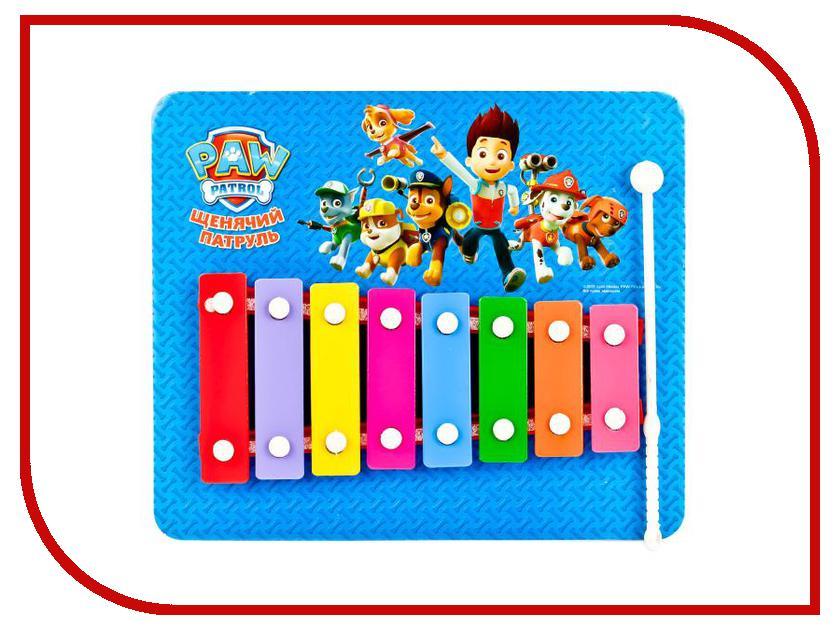 Детский музыкальный инструмент Играем вместе Металлофон Щенячий патруль B1634469-R4