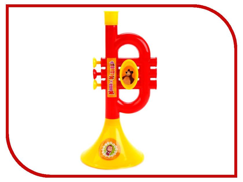 Детский музыкальный инструмент Играем вместе Труба Маша и медведь B782628-R2