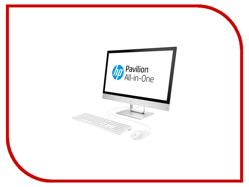 Моноблок HP Pavilion 24-r033ur White 2MJ41EA (AMD A12-9730P 2.8 GHz/12288Mb/1000Gb/DVD-RW/AMD Radeon R7/Wi-Fi/Bluetooth/Cam/24.0/1920x1080/Touchscreen/Windows 10 Home 64-bit) sheli laptop motherboard for hp pavilion dv6 7000 682169 001 48 4st10 021 ddr3 gt630m 1gb non integrated graphics card