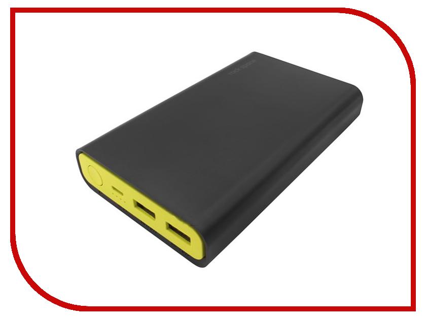 Аккумулятор Rock P16 Power Bank 10000mAh Black RMP0334